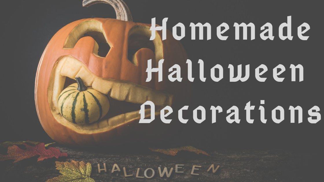 Homemade Halloween Decorations