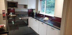 Open plan kitchen at Center Parcs Longleat