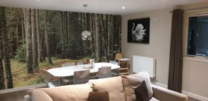 Open plan living area at Center Parcs Longleat.