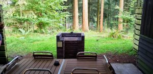 Private Patio in Center Parcs Longleat Executive Lodge