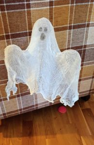 DIY Hanging Ghost